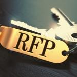 RFP written on Golden Keyring.